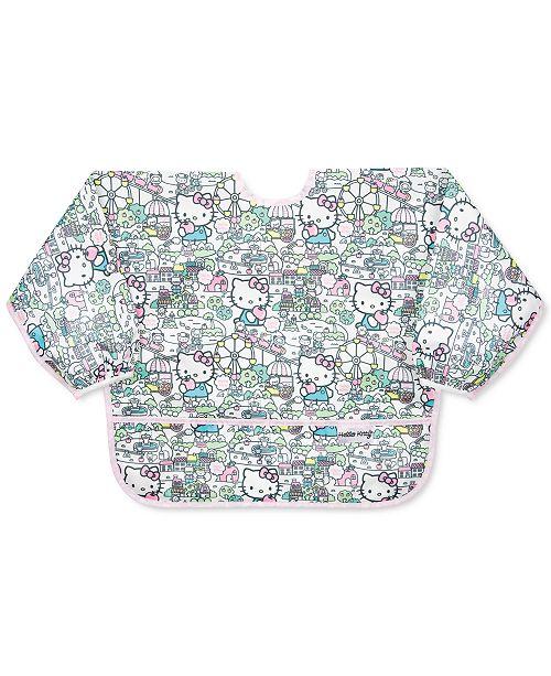 Bumkins Hello Kitty-Print Waterproof Sleeved Bib