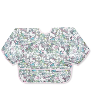 Bumkins Babies' Hello Kitty-print Waterproof Sleeved Bib In Multi
