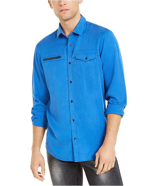 INC International Concepts INC Men's Lyocell Shirt, Created For Macy's