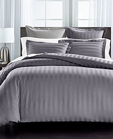 "1.5"" Stripe Supima Cotton 550-Thread Count 3-Pc. Full/Queen Duvet Cover Set, Created for Macy's"