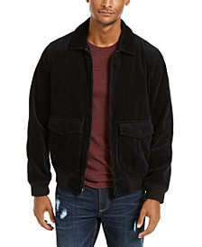 Men's Hazel Cord Bomber Jacket, Created for Macy's