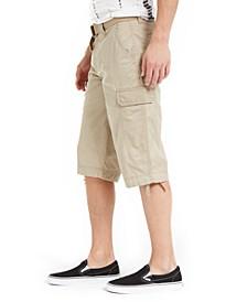 SUN + STONE Men's Klinger Messenger Shorts, Created For Macy's