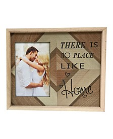 "Lighted Photo Frame 4"" x 6"" with There Is No Place Like Home"