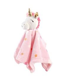 Baby Girl Plush Security Blanket