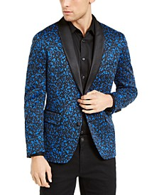 INC Men's Big & Tall Paint Splatter Knit Blazer, Created for Macy's
