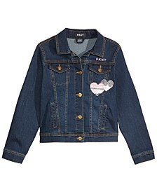 Big Girls Embellished Denim Jacket