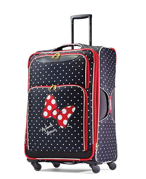 "American Tourister Disney by Minnie Mouse Red Bow 28"" Check-In Spinner"