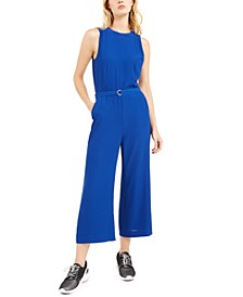 Belted Jumpsuit, Regular & Petite