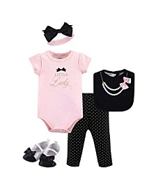 Baby Girl Clothing Set, 5-Piece