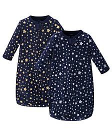 Baby Girl Long Sleeve Sleeping Bag 2-Pack