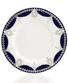 Marchesa by Lenox Dinnerware, Empire Indigo Salad Plate