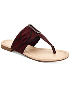 Women's Step 'N Flex Hewitt Thong Flat Sandals, Created For Macy's