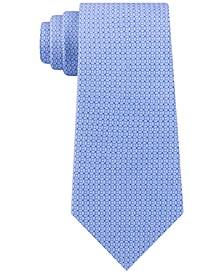 Men's Classic Geo Cube Silk Twill Tie