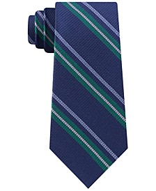 Men's Classic Textured Stripe Tie