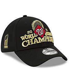 New Era Washington Nationals 2019 World Series Locker Room 39THIRTY Stretch Fitted Cap