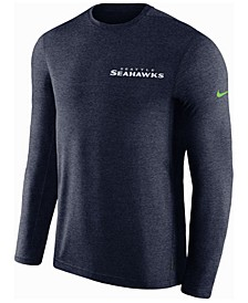 Men's Seattle Seahawks Coaches Long Sleeve Top