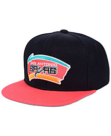 Mitchell & Ness San Antonio Spurs 2 Tone Classic Snapback Cap