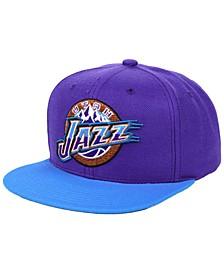 Utah Jazz 2 Tone Classic Snapback Cap