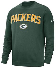 Men's Green Bay Packers Fleece Club Crew Sweatshirt