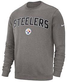 Men's Pittsburgh Steelers Fleece Club Crew Sweatshirt