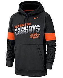 Men's Oklahoma State Cowboys Therma Sideline Hooded Sweatshirt
