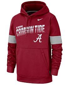 Men's Alabama Crimson Tide Therma Sideline Hooded Sweatshirt