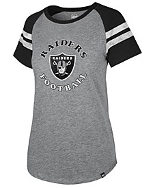 Women's Oakland Raiders Flyout Raglan T-Shirt