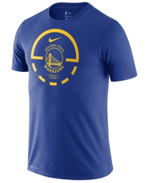 Nike Men's Golden State Warriors Courtlines Dri-fit T-Shirt