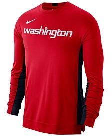 Men's Washington Wizards Dry Top Long Sleeve Shooter Shirt