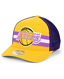 Los Angeles Lakers 110 Trucker Snapback Cap