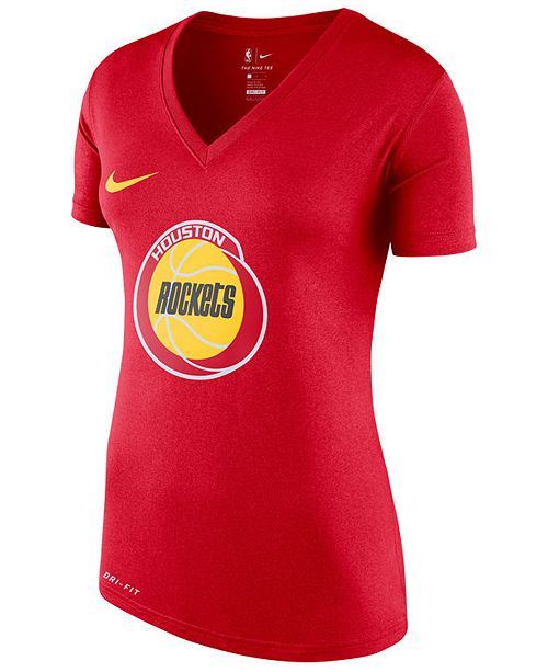 Nike Women's Houston Rockets Hardwood Classics T-Shirt