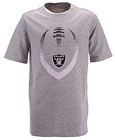 Big Boys Oakland Raiders Football Icon T-Shirt