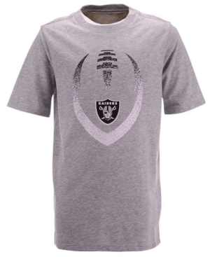 Nike Big Boys Oakland Raiders Football Icon T-Shirt