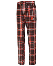Men's Cleveland Browns Hillstone Flannel Pants