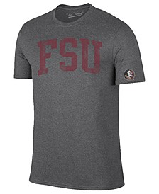Men's Florida State Seminoles Oversized Arch Dual Blend T-Shirt