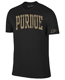 Men's Purdue Boilermakers Oversized Arch Dual Blend T-Shirt