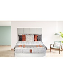 "Joma Luxury Rylie 15"" Cushion Firm Mattress Set- Queen"