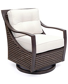 North Shore Outdoor Swivel Chair with Sunbrella® Cushion, Created for Macy's