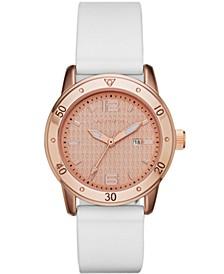 Women's Silcone Strap Watch 35mm