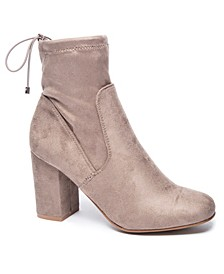 Kyla Block Heel Booties