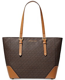Signature Aria Leather Tote