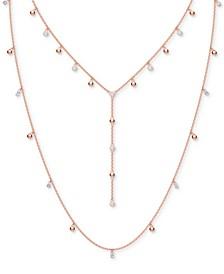 "Penelope Cruz Moonsun Crystal Interchangeable Long Necklace, 23-1/2"" + 2"" extender"