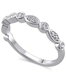 Certified Diamond (1/4 ct. t.w.) Ring in 14k White Gold