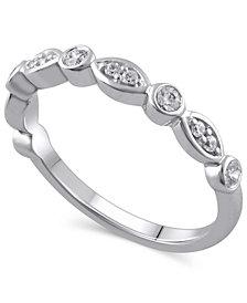 Certified Diamond (1/4 ct. t.w.) Ring in 14k White Gold