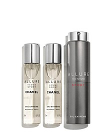 Eau Extrême Refillable 3-Pc Travel Spray
