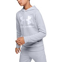 Deals on Under Armour Boys Rival Logo Hoodie