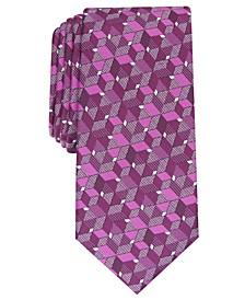 Men's Slim Geo Tie, Created For Macy's