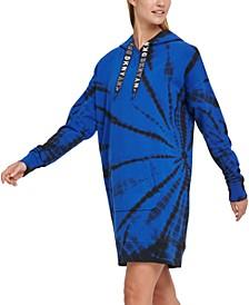 Sport Tie-Dyed Hoodie Sneaker Dress