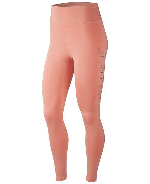 Nike Women's Run Dri-FIT Logo Leggings
