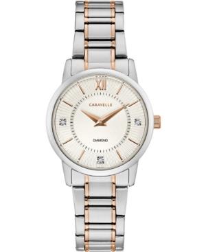 Women's Two-Tone Stainless Steel Bracelet Watch 30mm